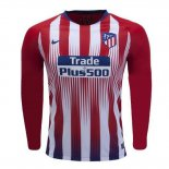 Camiseta Atletico Madrid Primera Manga Larga 2018 2019