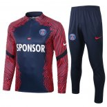 Chandal de Sudadera del Paris Saint-Germain 2020 2021 Azul