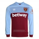 Camiseta West Ham Primera Manga Larga 2019 2020
